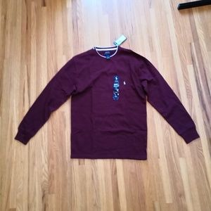 NWT Ralph Lauren Mens Long Sleeve. Large
